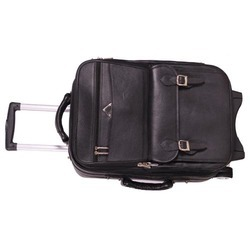 (DSC - 0047) Leather Trolley Bag