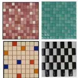 Stone Glass Mosaic Tiles (Glossy & Matt Finish)
