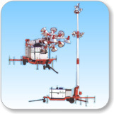 14(16) Meter Telescopic Tilting Type Tower