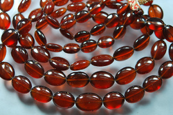 Red Garnet Smooth Oval Nuggets Shape Briolettes
