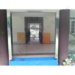 String Water Curtain With ACP Sheet