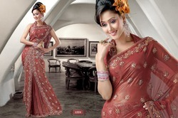 Bollywood Sarees For Ladies Wear
