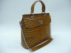 Snake Print Leather Bags