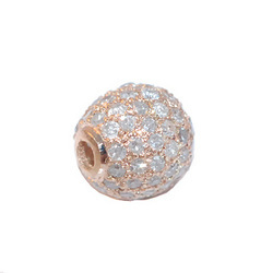 Rose Gold Diamond Bead Jewelry