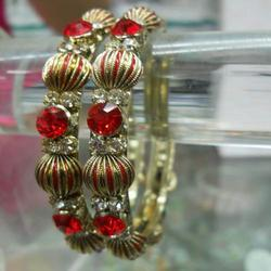 Red Two Piece Bangles