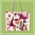 Jute Fancy Beach Bags