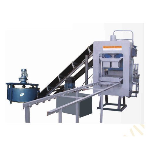 High Pressure Fly Ash Brick Making Machine (SVCBM- 1)