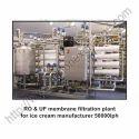 RO And UF Membrane Filtraion Plant