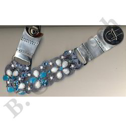 Brand Embroidered Belts