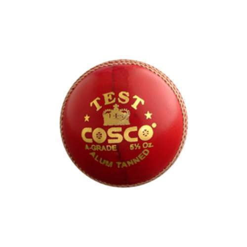 Cosco Cricket Leather Ball - Test