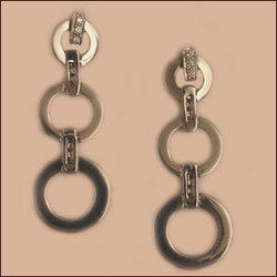Platinum & Diamond Earrings (Type-1)