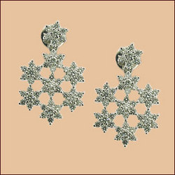 Platinum & Diamonds Earrings (Type-3)