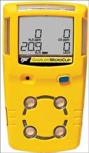 Multi Gas Detector 4 Gas Monitor O2 Lel H2s Co