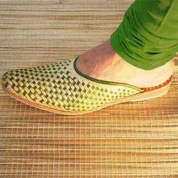 Green Flat Slip on Chappal