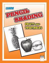 Pencil Shading Fruits Vegetables Books