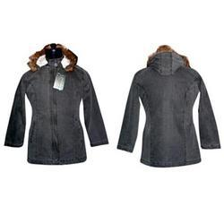 Ladies Hooded Jacket-FCL J 001