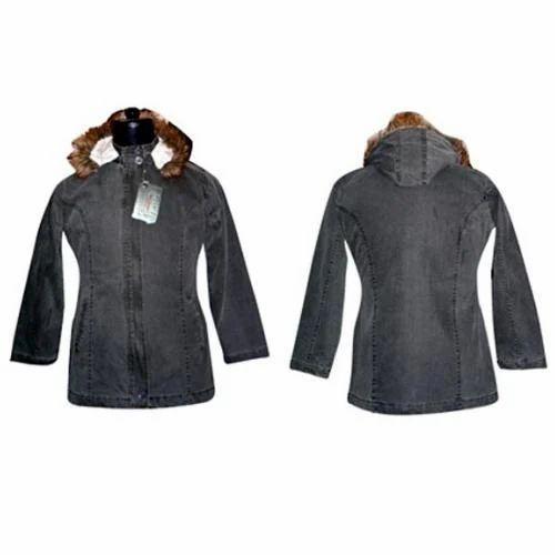 Ladies Hooded Jacket-FCL J 001