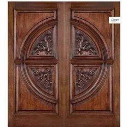 Teak Wood Doors  sc 1 th 225 & Jayasai Enterprises - Manufacturer of Elegant Wooden Main Door ...