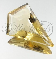 Flawless Eye Clean Citrine Loose Gemstone