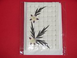 Dried Flower Handmade Paper Greeting Cards