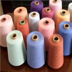 Melange Yarns in 100% Cotton