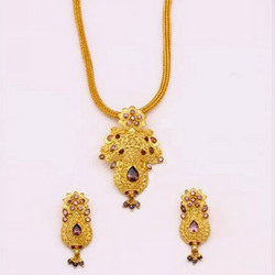 One Gram Gold Forming Designer Pendant Sets