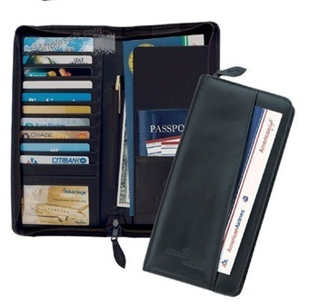 Leather Passport Organizers
