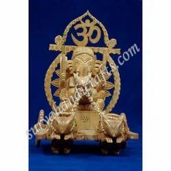 Wooden Ganesha With Kadam Wood