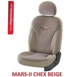 Mars Chex Design Car Seat Covers