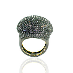 Diamond Pave Ring Jewelry