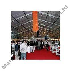 Exhibition Tent (Inner View)