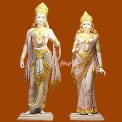 Lord Ram Sita Statue