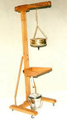 Shirodhara Stand Wooden, With Head Support