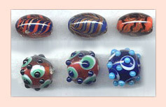 Stylish Lampwork Beads