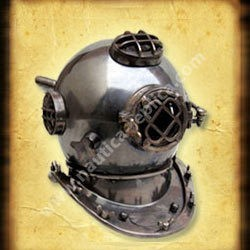 Diver Helmet Antique Finish (NR7043)