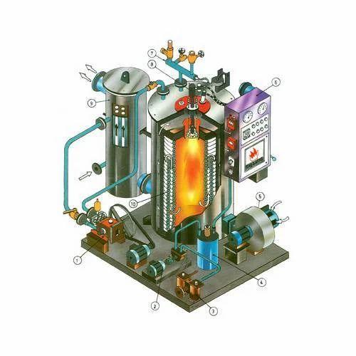 Vertical Boiler Non IBR Spares