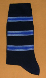 AOV /MN/ST/40 Men Stripe Socks