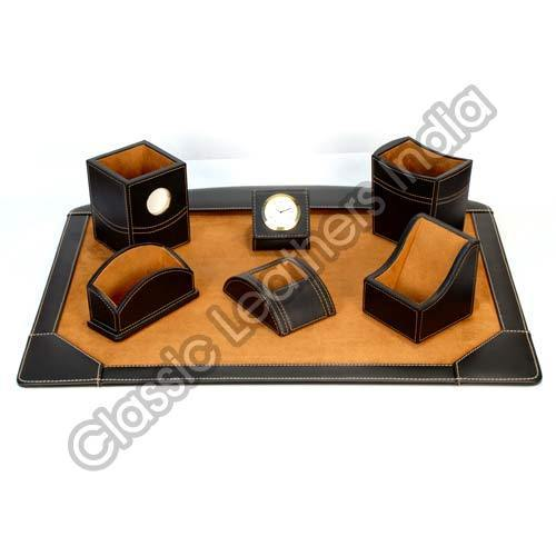 Leather Tabletop Accessories