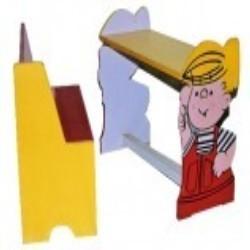 Cartoon Character Shaped Desk