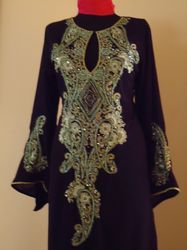 hand embroidered abaya