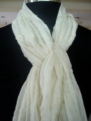 White Summer Scarves