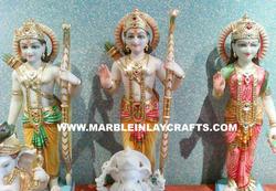 Marble Statue of Ram Darbar