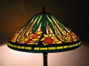 Tiffany lamp shade-Narcissus flower