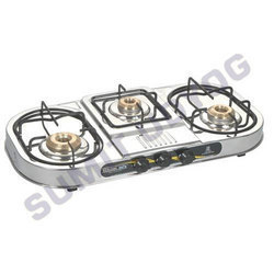 Portable Gas Three Burner