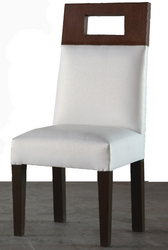Upholstered Back Chair