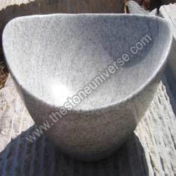 Crystal Grey Granite Basin