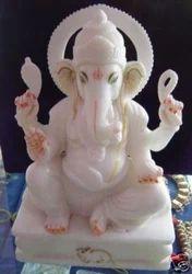 Stone Ganesh Sculpture