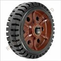 Heavy Duty Anti-Static Rubber Wheels
