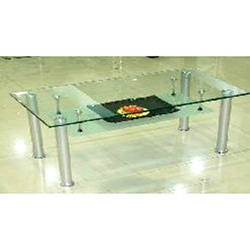 Center Table with Steel Legs