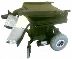 Rear Wheel Drive Chair With Foldable Back Rest